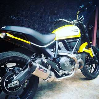 Devil Exhaust Systems Singapore Ducati Scrambler 800 ! Ready Stock ! Promo ! Do Not PM ! Kindly Call Us ! Kindly Follow Us ! Kindly Join Us As Members To Enjoy More Goodies !