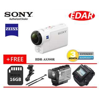 SONY HDR-AS300R / AS300R ACTION CAMERA  ««ORIGINAL & OFFICIAL SONY»»
