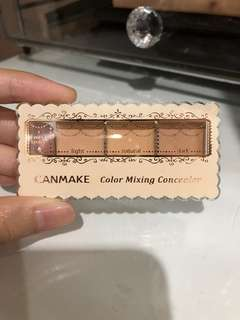 Canmake color mixing concealer shade light 01