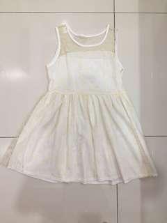 Tee too daisy white dress