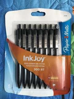 Paper Mate InkJoy black ballpens