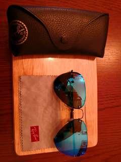 Ray-Ban 銀色太陽眼鏡