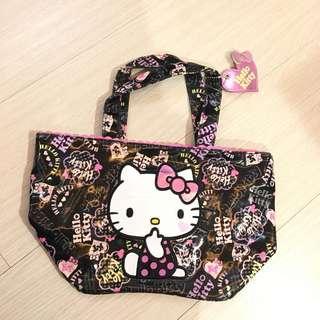 Hello kitty 凱蒂貓 防水 便當袋 手提袋