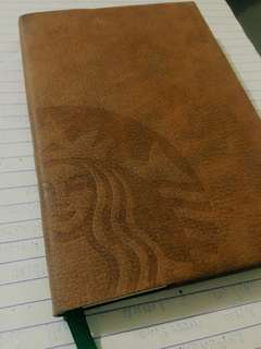 Unused Starbucks Planner 2018 (small blue)