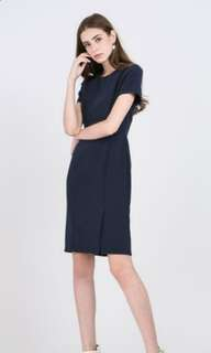 *BRAND NEW WITH TAG* Runway Bandits Navy Dress