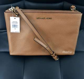 Michael Kors Jet Set Travel Double Zip Sling