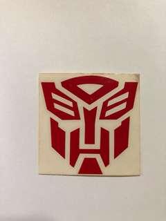 Transformer Sticker