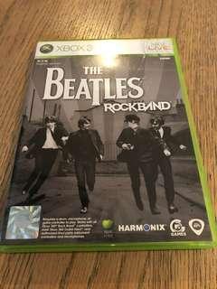 Xbox 360 Beatles Rockband Game