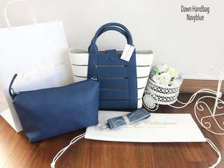 Dawn Handbag Navy Blue