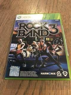 Xbox 360 game Rockband 3
