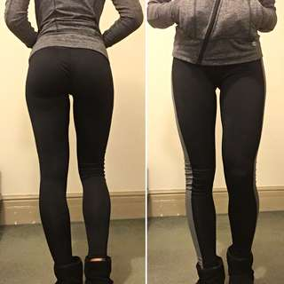 Running thighs