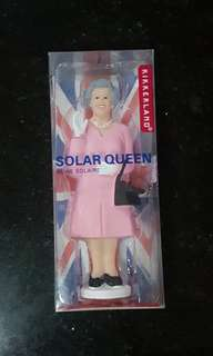 Waving Queen Solar Operated