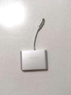 Taikesen MacBook type C 接駁器