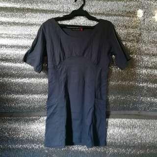 Blue Longsleeve Dress
