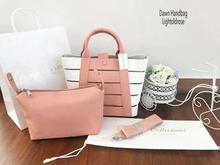 Dawn Handbag Light Old Rose