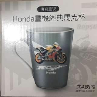 現貨 一共四款 7-11 Honda 限量炫彩馬克杯