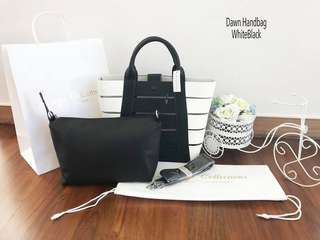 Dawn  Handbag WhiteBlack