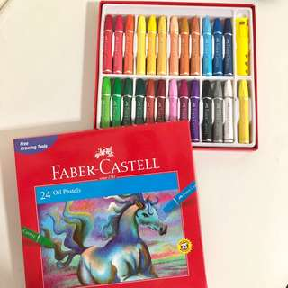 Faber Castell Oil Pastels 24 Colours