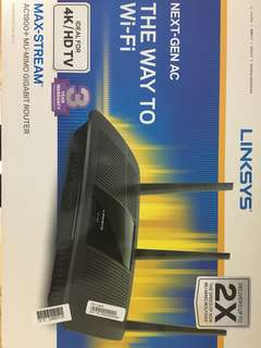 Linksys AC1900+ Router