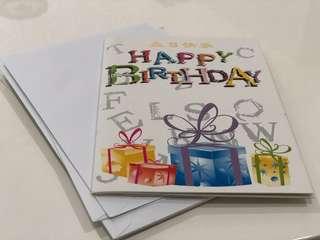 Birthday Cards 5 (8 pcs)