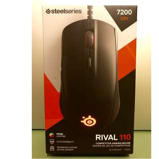 SteelSeries Rival 110 光學滑鼠 Optical Mouse MOBA/MMO Razer