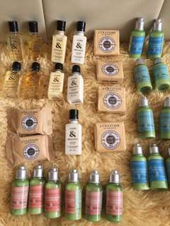 (BN) L'OCCITANE En Provence Body Lotion Shower Gel Shampoo Conditioner Soap Travel Diy Mini Kit loccitane