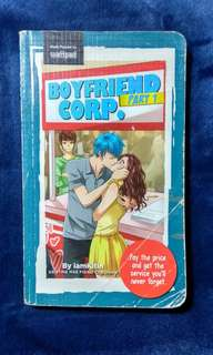 Wattpad book (boyfriend corp. Part 1)