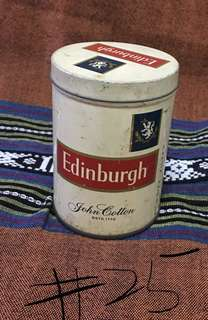cigarettes tin