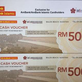 Room Cash Voucher- Swiss Garden Resort