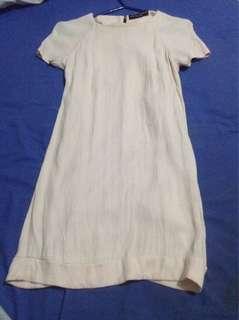 Pale Pink Short Sleeve Dress
