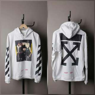 Hoodie off white narciso