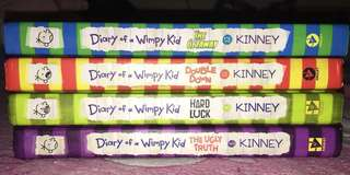 Diary of A Wimpy Kid (Hardbound)