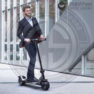 Newest wide wheel Electric scooter