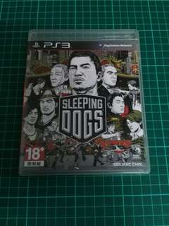 PS3 Game- Sleeping Dogs