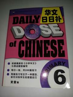 Daily DOSE of Chinese -Primary 6