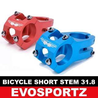 Bicycle Short Stem 31.8mm