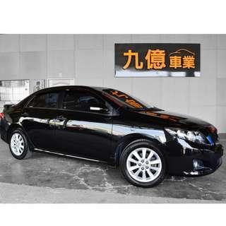 2010 ALTIS 1.8 原廠Z版 可配合直播賞車 里程車況保證