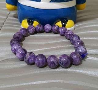 🚚 紫龍晶手珠11mm手圍16-19cm