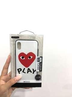 CDG iPHONEX CASE