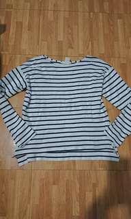 H&M Striped Long Sleeved Shirt
