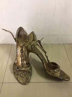 BCBG T-strap Opentoe Sandals Heels