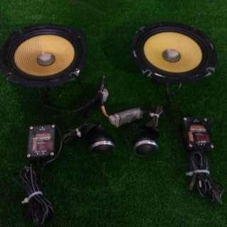 Pioneer Carrozzeria Speaker Set