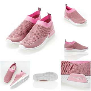 Keleney Sneakers. Kode B-19 Colours : Black, Pink, Gray, Red.