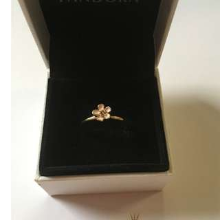 Cherry Blossom Ring 14k Gold