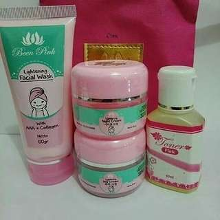 New pack been pink whitening