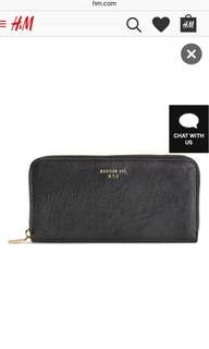 Divided by H&M Black Leather Wallet