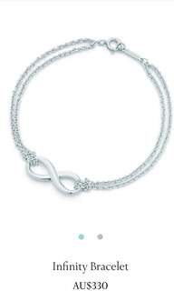 Tiffany and Co. Silver Infinity Bracelet