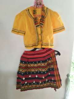 Traditional Filipino costume for rent or sale