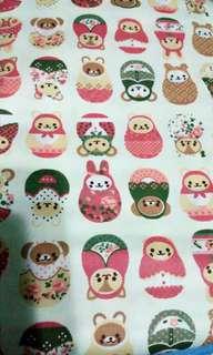 Cotton fabric nice design cloth