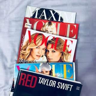 taylor swift magazines